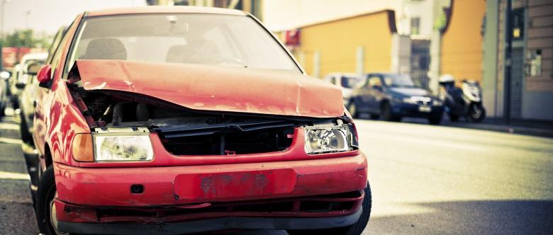 Wie hoch ist beim Auto der Restwert nach einem schweren Unfall?