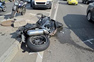 Die Verletzungen fallen nach einem Motorradunfall meist um einiges gravierender aus.