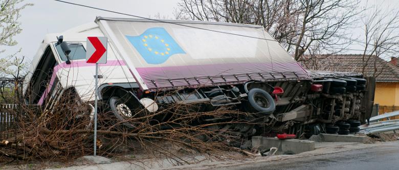 Ein tödlicher Lkw-Unfall ist keine Seltenheit.